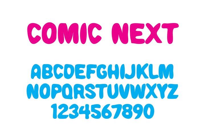Comic Next Font