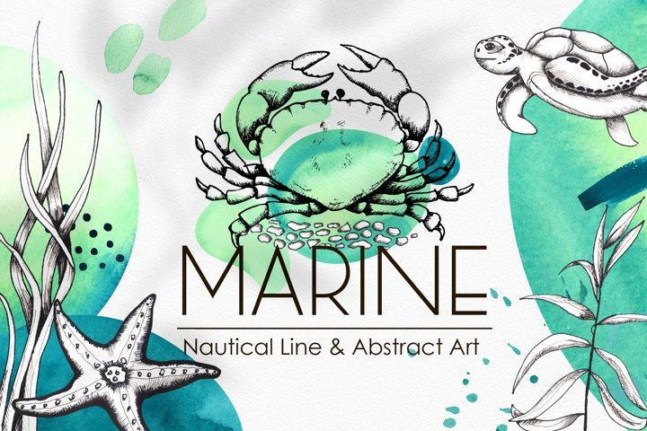 Marine Line & Abstract Art
