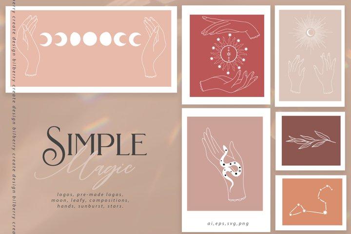 Simple Magic art set