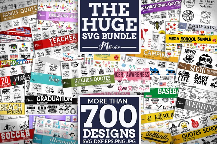 The Huge SVG Bundle