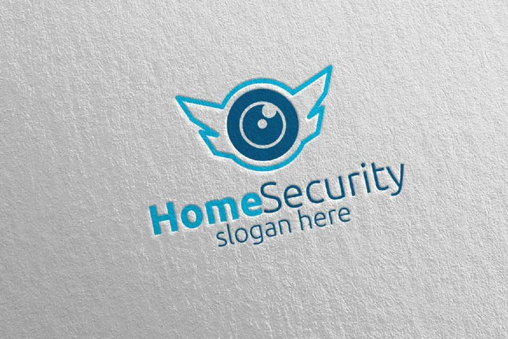 Camera CCTV Home Security Logo 5
