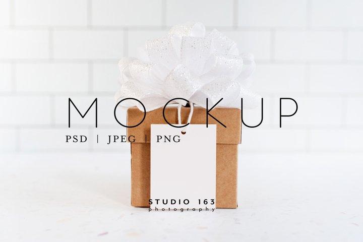 Tag Mockup, Gift Tag, Product Tag, PSD
