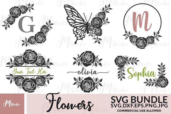 Flowers SVG Bundle. S2