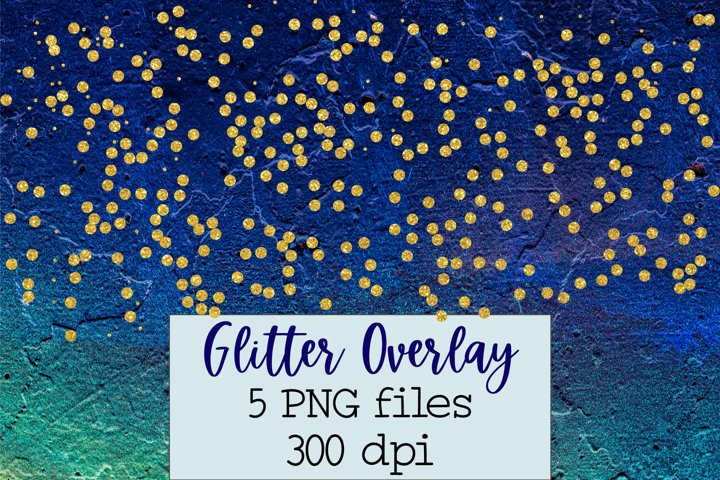 Glitter overlays PNG