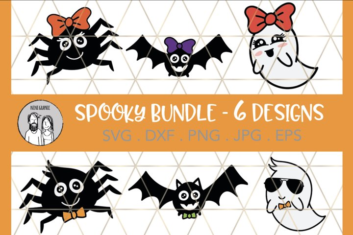 HALLOWEEN BUNDLE, Cut files, Printable Images