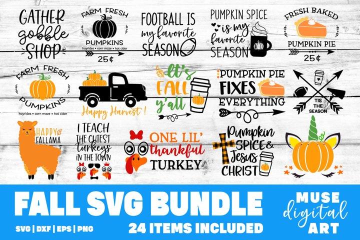 Fall Bundle Svg, Thanksgiving Svg Bundle, Kids Cute Svg File