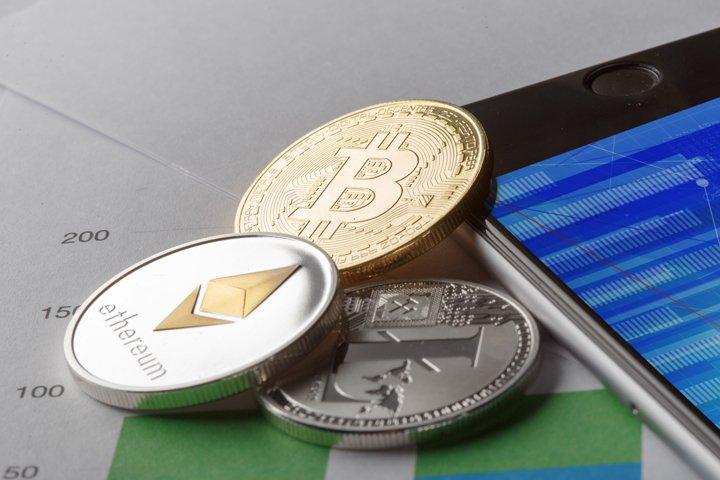 Golden Bitcoin Coin JPG set example 3