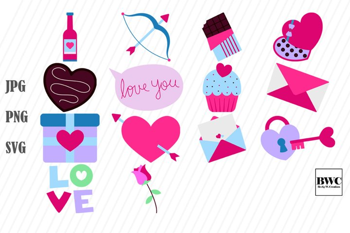 Valentine SVG Bundle 3