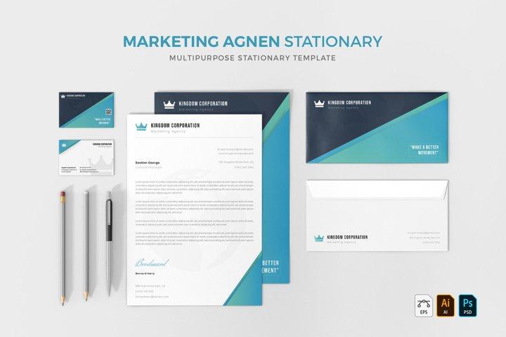 Marketing Agen   Stationery