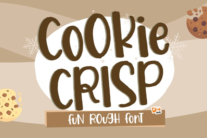 Cookie Crisp - Fun Rough Font