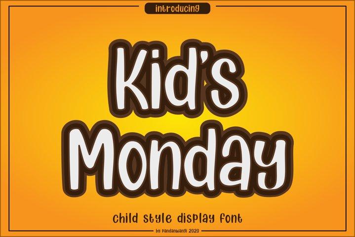 Kids Monday