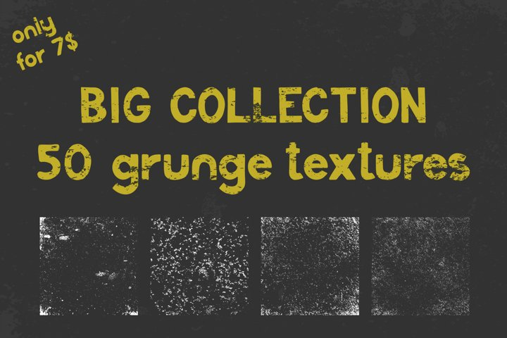 Big collection of grunge textures