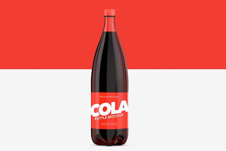 Cola Bottle Pet - Mockup
