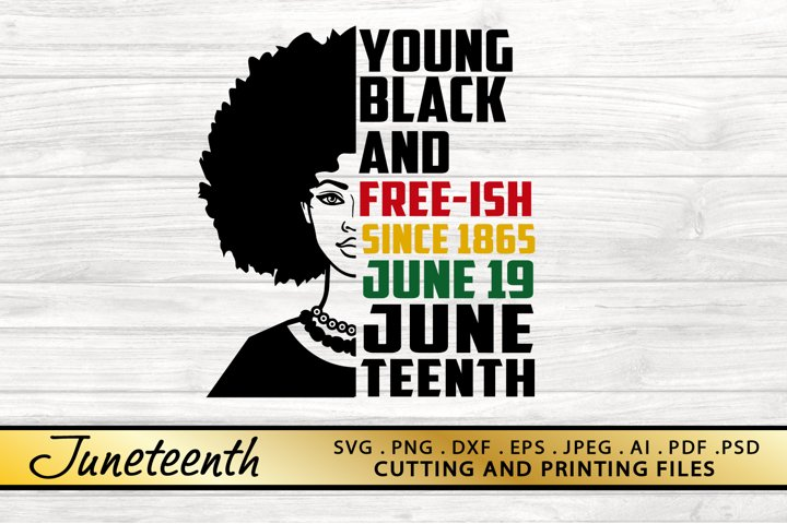 Juneteenth SVG PNG DXF EPS Files for Cutting and Printing