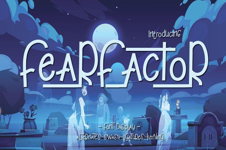Fearfactor Display