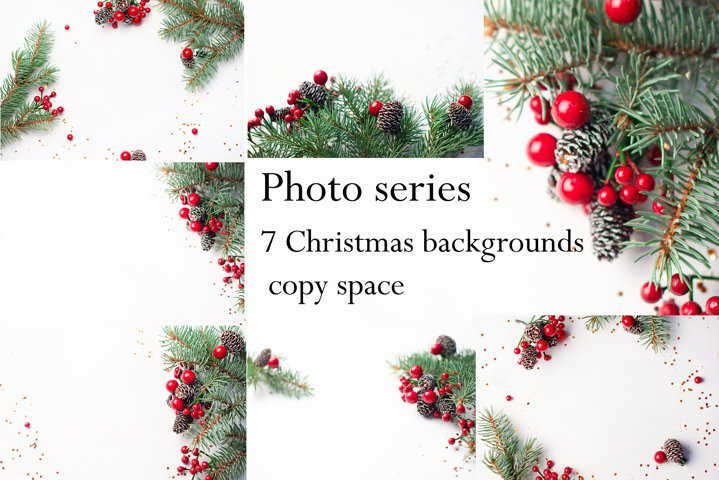 Christmas backgrounds photos with copy space