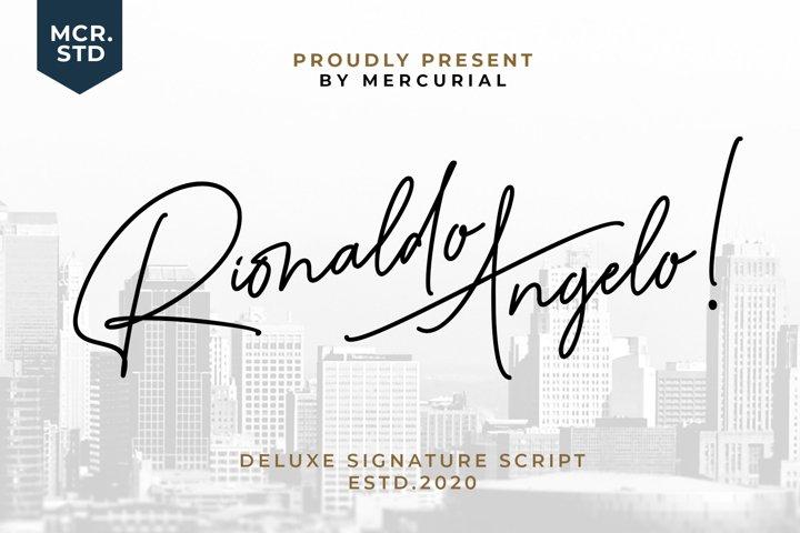 Rionaldo Angelo