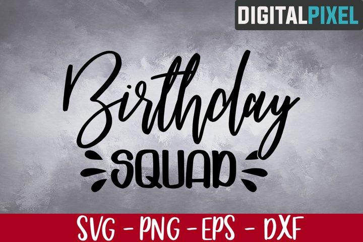 Birthday Squad Svg, May Girl 2020 Svg, Birthday Svg