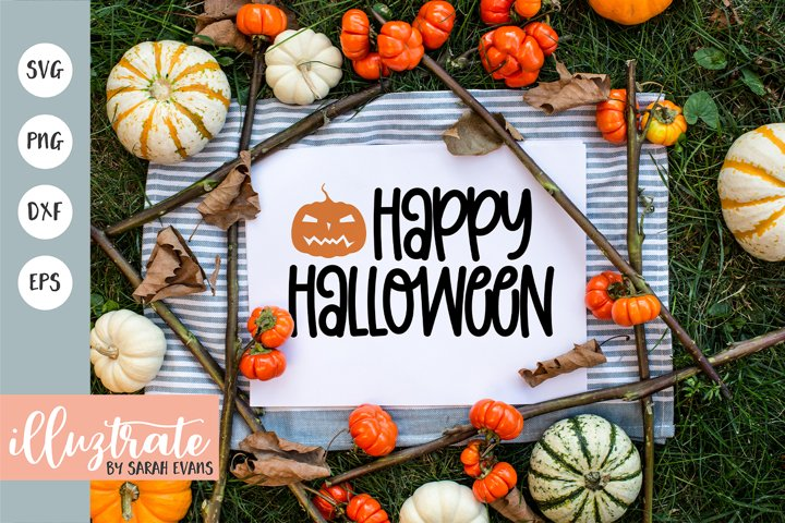 Happy Halloween SVG Cut File | Halloween SVG