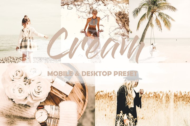 Cream Mobile Lightroom Preset