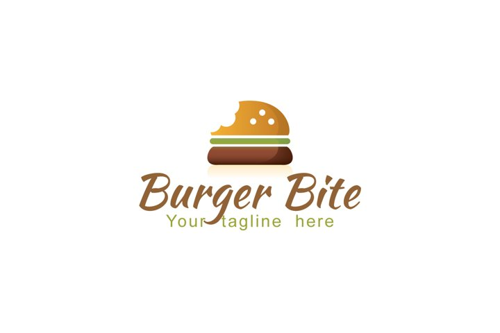 Burger Bite - Fast Food Logo Design Template
