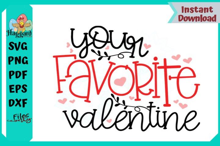 Your Favorite Valentine