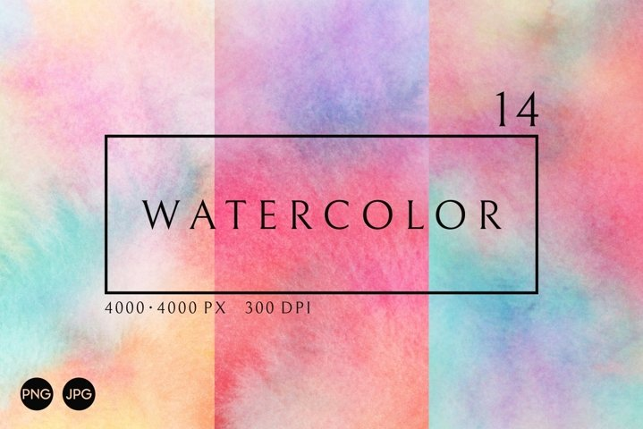 Watercolor Texture | Colorful Background