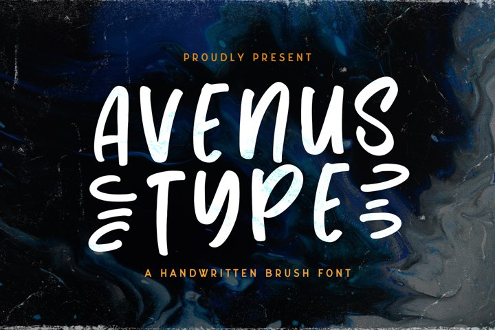 Avenus Type - Quirky Display Font