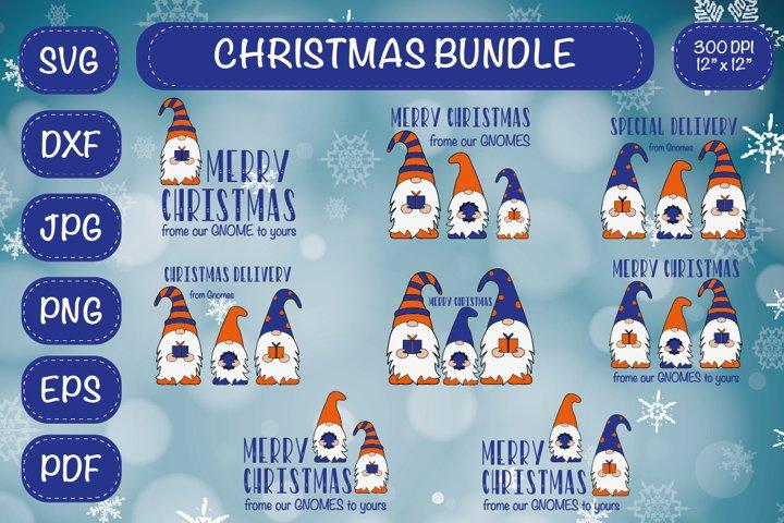 CHRISTMAS Bundle SVG. Christmas Gnomes.