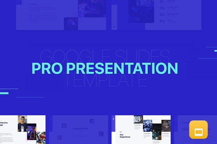 Pro Presentation - Smooth Animated GoogleSlide Template