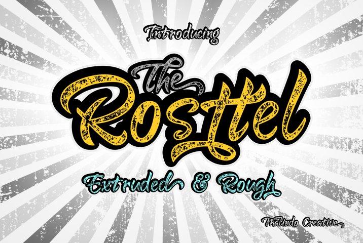 Rosttel Extruded & Rough
