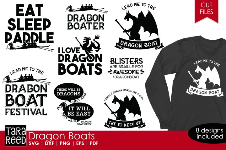Dragon Boat Festival - SVG and Cut Files for Crafters