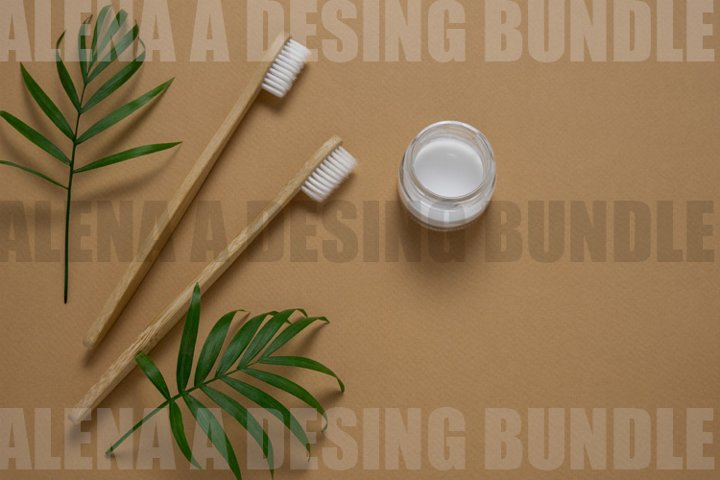 Bamboo Eco Friendly Toothbrushes and Tooth Paste