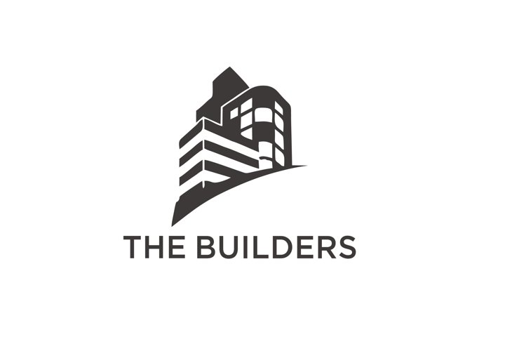 the builders vektor logo design