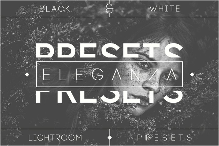Eleganza | 74 Black & White Lightroom Presets
