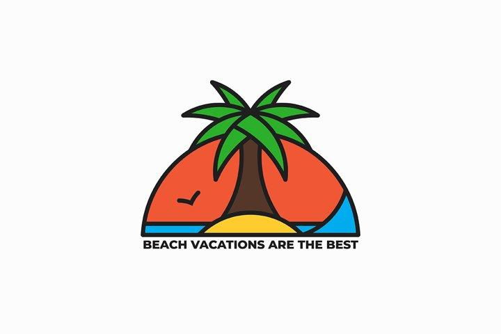 Vacation company logo design