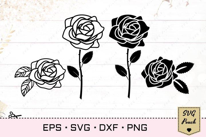 Rose Flower svg