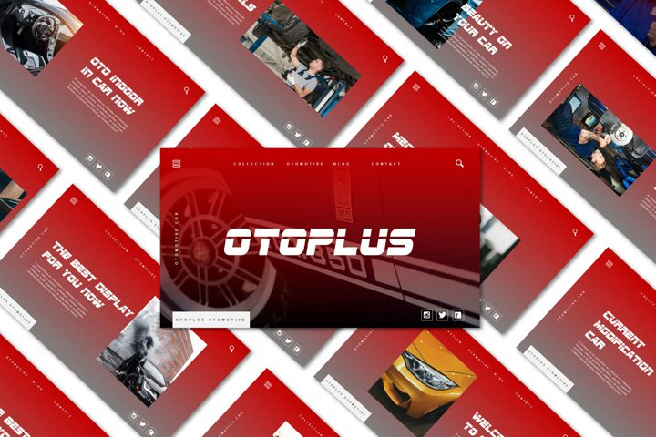 OTOPLUS | Google Slide Template