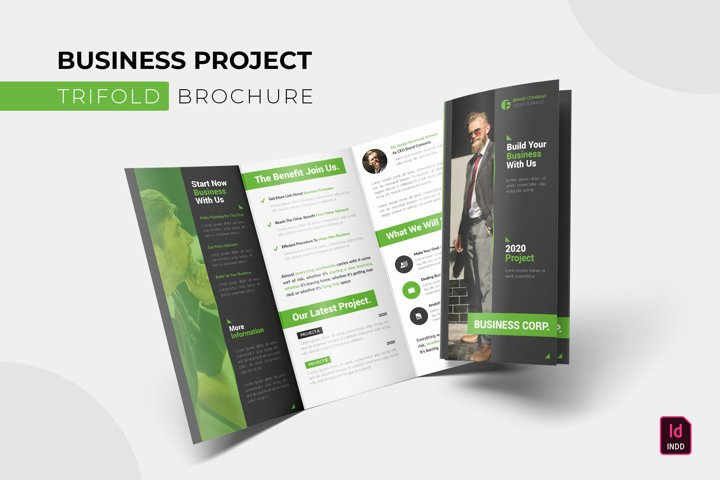 Business Project | Trifold Brochure