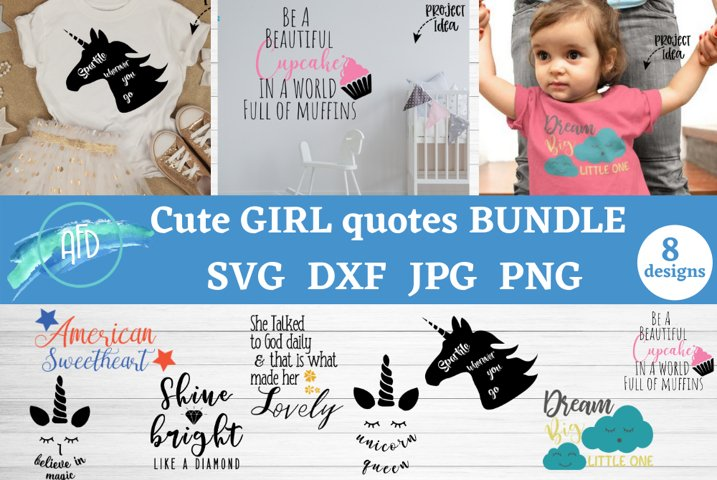 Girl mom quotes svg, girl quotes bundle, cute girl shirts