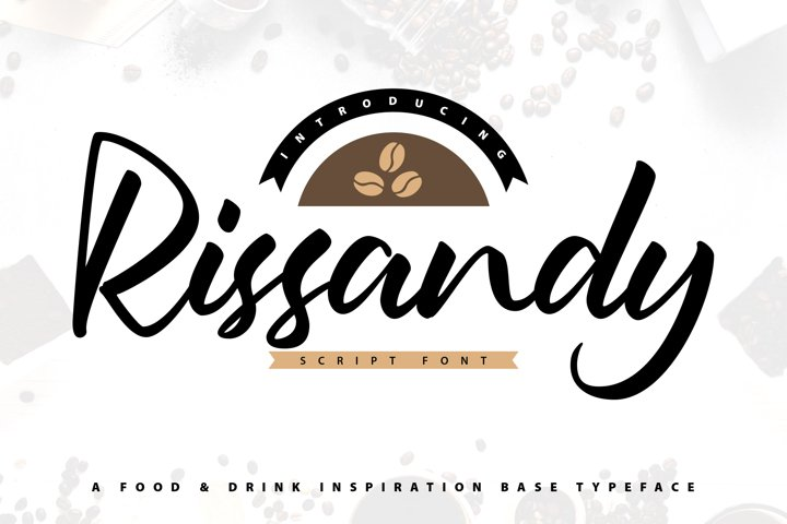 Rissandy - Handcrafted Lettering Script Font