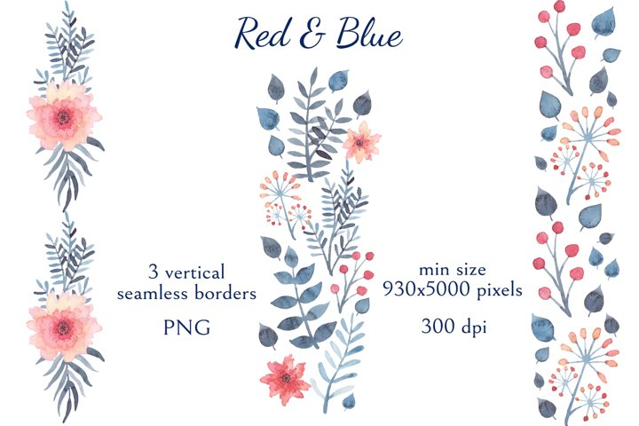 Red & Blue example 3