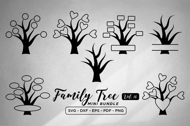 Family Tree SVG Bundle Vol 10, Family Tree SVG Bundle
