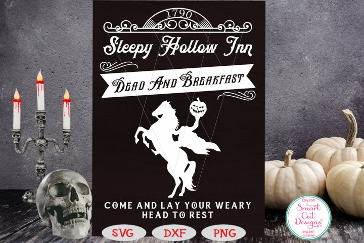 Dead And Breakfast SVG, Halloween SVG, Headless Horsemen SVG