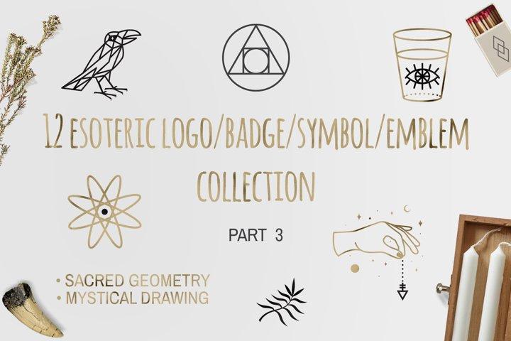 12 Esoteric Logo/Badge/Symbol Part 3