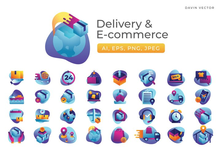 Delivery & E-commerce Icons