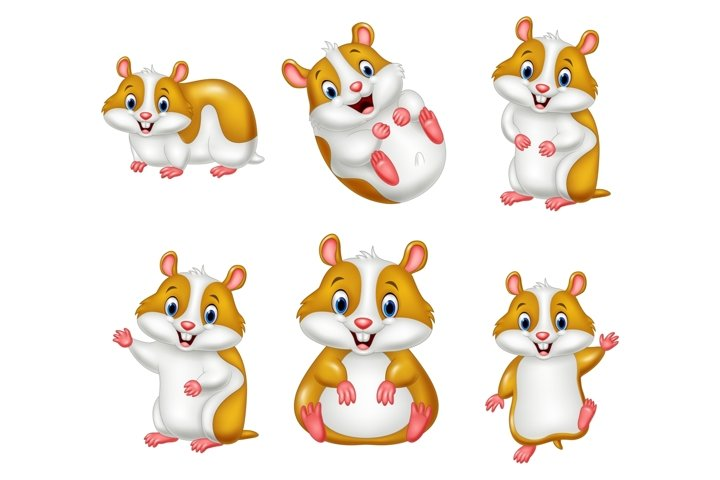 Cartoon Baby Hamsters Bundles