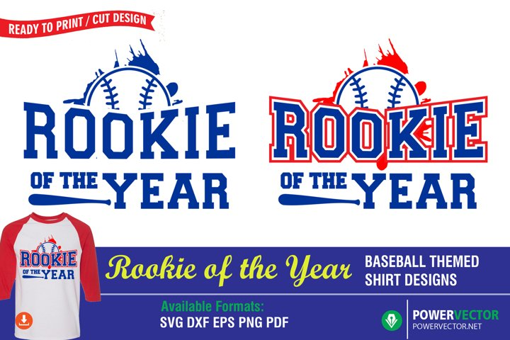 Rookie of the Year, Sports SVG Design