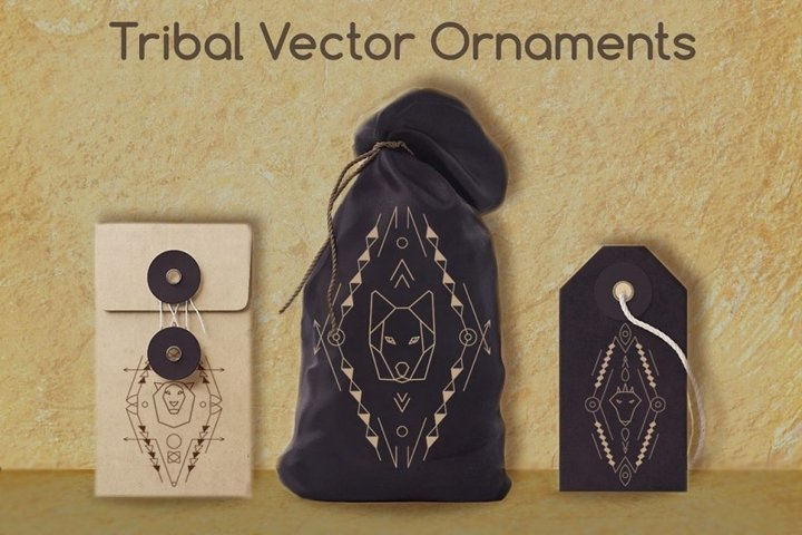 3 Tribal Animal Ornaments SVG EPS Ai CDR PNG JPG