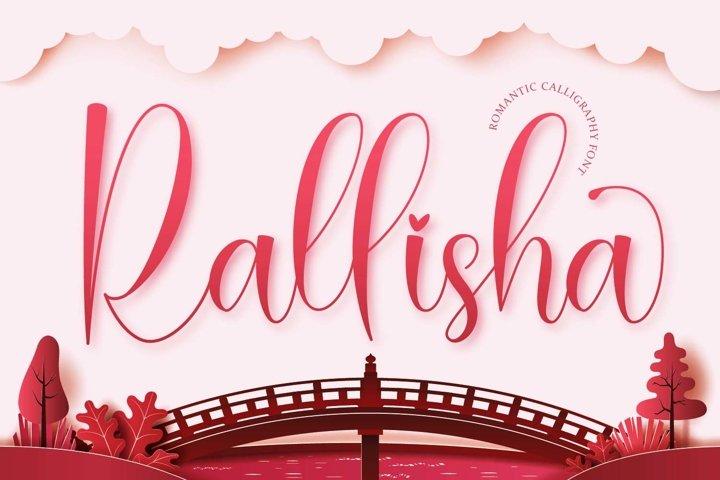 Rallisha - Modern Calligraphy